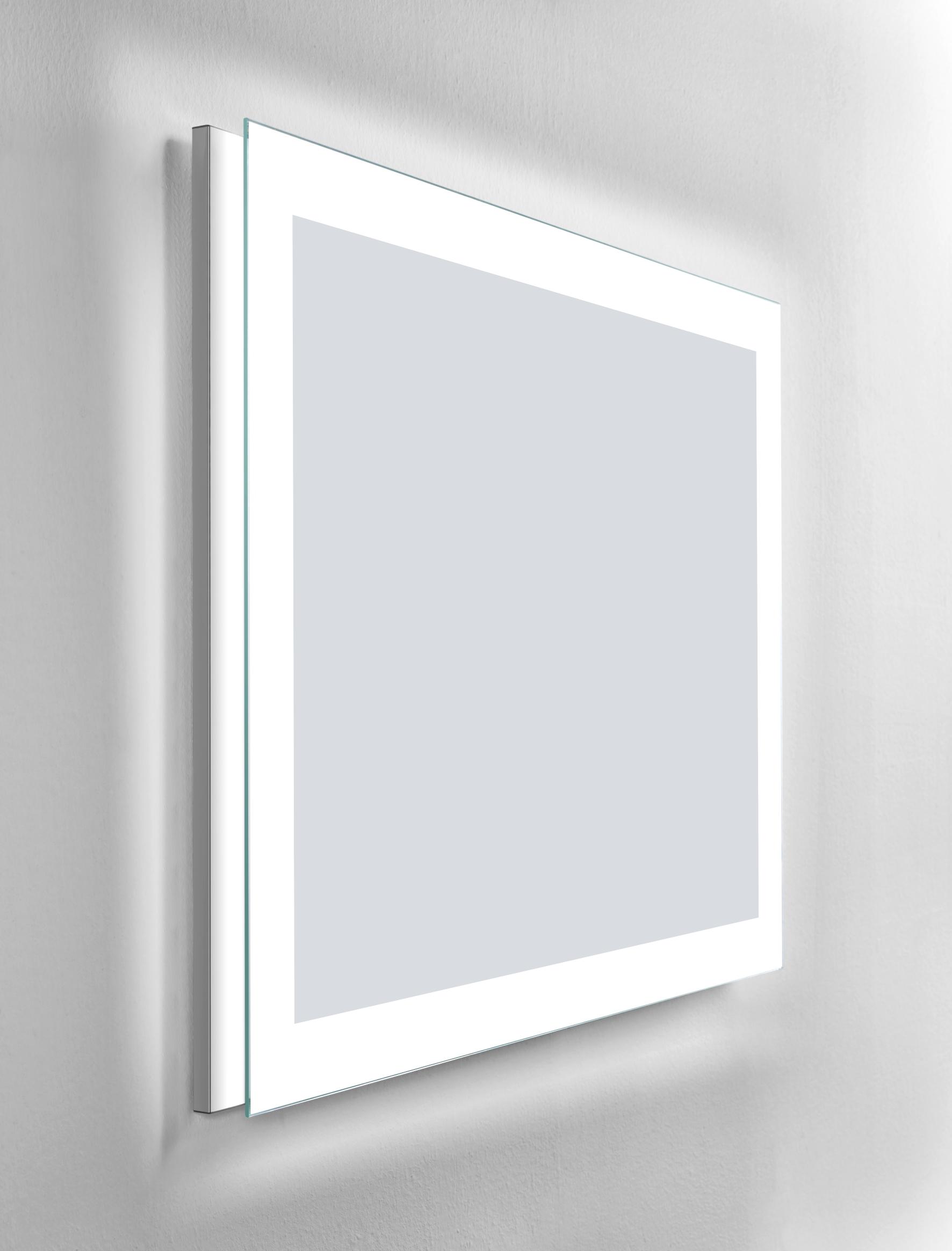 Miroir avec clairage integr eban for Eclairage miroir
